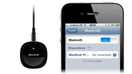 Belkin Bluetooth Music Receiver, reproduce la música de tu iPhone en tu equipo sin necesidad de cables