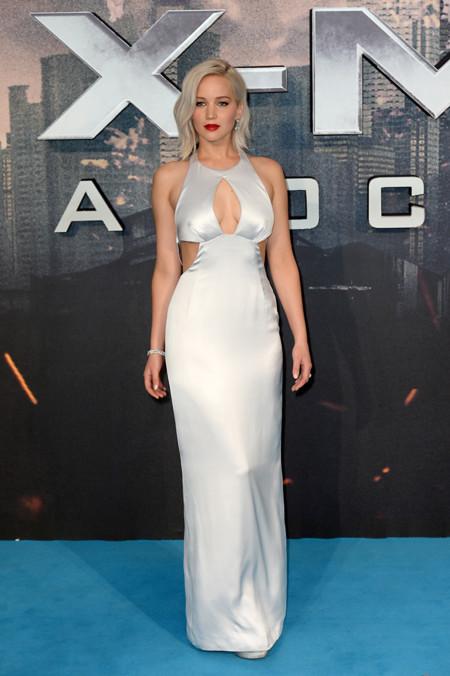Jennifer Lawrence X Men Londres 2