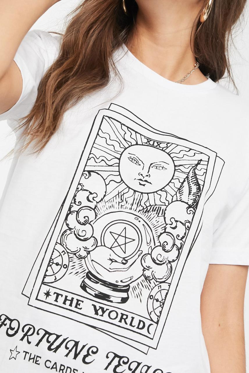 Camiseta con estampado fortune de ASOS DESIGN