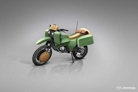 06 Land Rover Dirt Bike