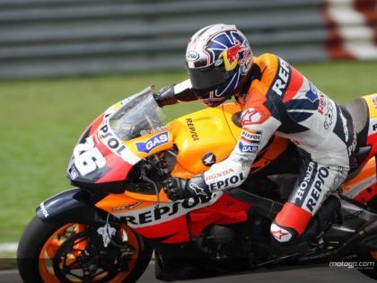 Dani Pedrosa consigue su tercera pole consecutiva