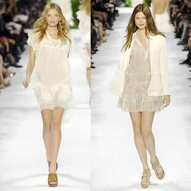 Stella McCartney en la Semana de la Moda de París Primavera-Verano 2008