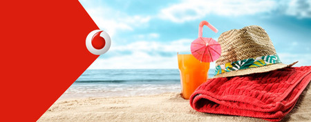 Vodafone amplía su cobertura 4G en playas este verano