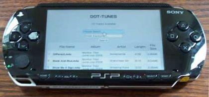 iTunes en tu PSP
