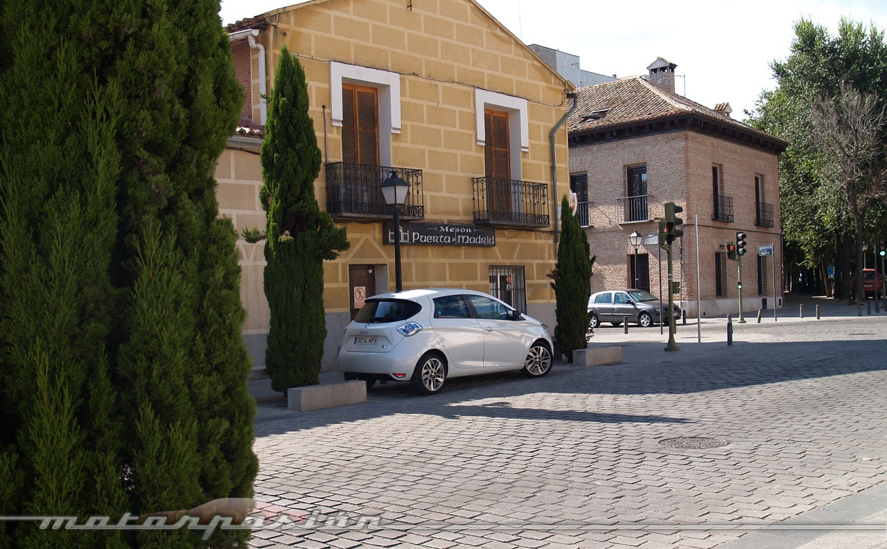 Foto de Reto de autonomía eléctrica en un Renault ZOE (8/18)