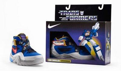 Las zapatillas inspiradas en los Transformers, por Nike