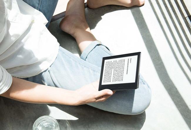 Amazon Kindle Oasis Portada