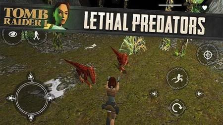 El primer 'Tomb Raider' llega a dispositivos táctiles