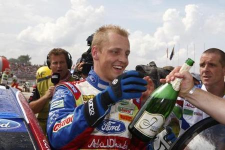 Mikko Hirvonen gana el Rally de Polonia
