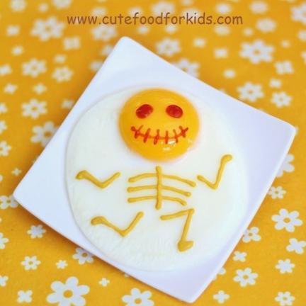 huevo frito halloween