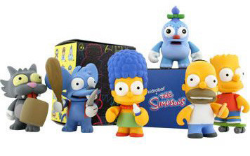 Los Simpson en miniatura