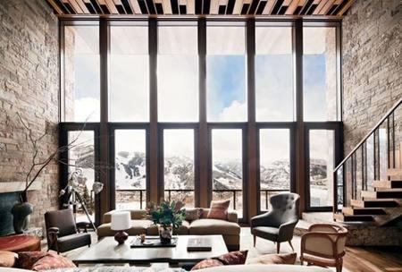 Un ventanal en el cielo de Aspen