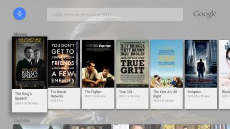 Búsqueda de Google para Android TV