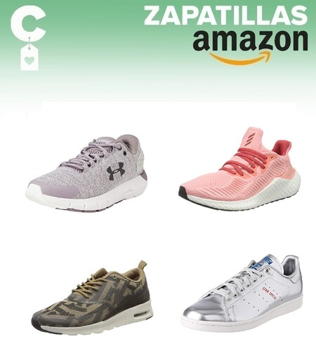 Chollos en tallas sueltas de  zapatillas Nike, Under Armour o Adidas en Amazon