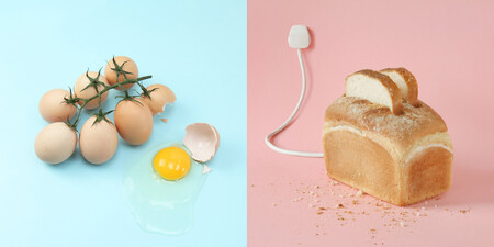 """Las divertidas imágenes de """"surrealismo doméstico"""" creadas por Helga Stentzel"""