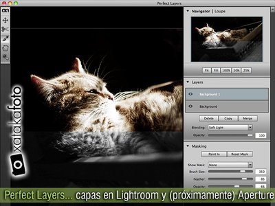 Perfect Layers: capas en Lightroom y (próximamente) Aperture