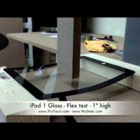 El cristal superior del iPad 2: más delgado, pero mucho más resistente