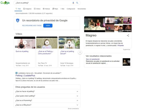 Petting Google