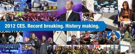 El CES 2012 rompe records de asistentes y exponentes