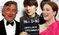 Paul Dano es hijo de Robert de Niro y Julianne Moore en 'Otra noche de mierda en esta puta ciudad'
