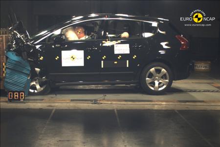 Peugeot 3008 HYbrid4 EuroNCAP