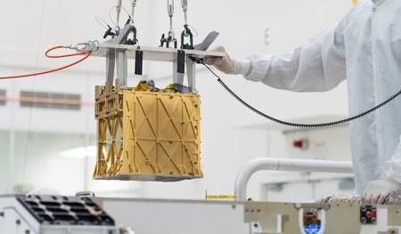 Perseverance Oxigeno Marte