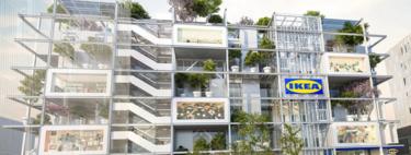 Ecofriendly y con una fachada llena de árboles. Así será la nueva tienda de Ikea en Viena
