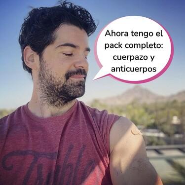 Este es el motivo por el que Miguel Ángel Muñoz ya ha recibido las dos dosis de la vacuna 'Pfizer'... ¡En el pasillo de una papelería!