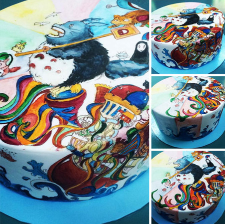 Totoro Cakes 5 605