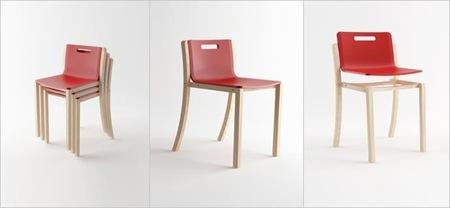 Las ventajas de las sillas apilables y colgantes