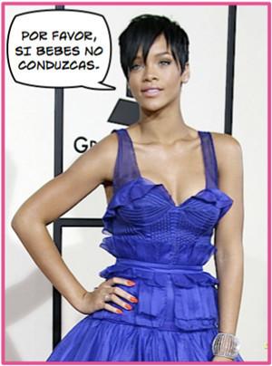 Rihanna tuvo un accidente de coche al salir de los Grammys