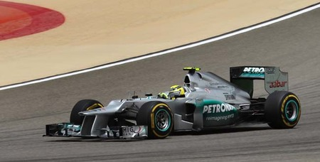 Nico Rosberg saca pecho