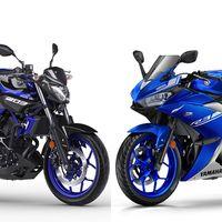 Nuevos colores y mismo precio para las Yamaha YZF-R3 y MT-03, las mini-bestias japonesas del carnet A2
