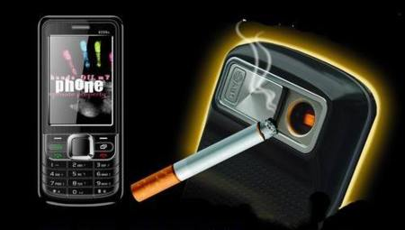 Lighter Phone, el móvil con mechero