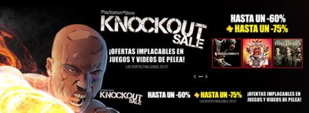 ¡Atención amantes de los juegos de peleas! PNS lanza sus ofertas Knockout