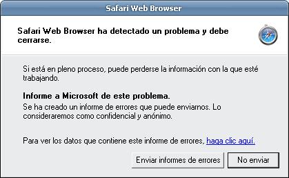 Safari para Windows: ¿realmente era necesario?