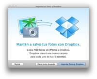 Dropbox actualiza su app para OS X y añade la opción de importar desde iPhoto