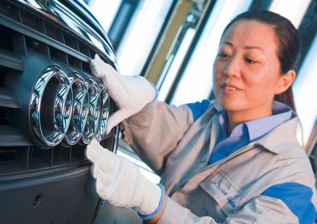 Fábrica de Audi en China