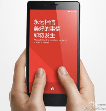 Ya tenemos la primera imagen del Xiaomi Redmi Note