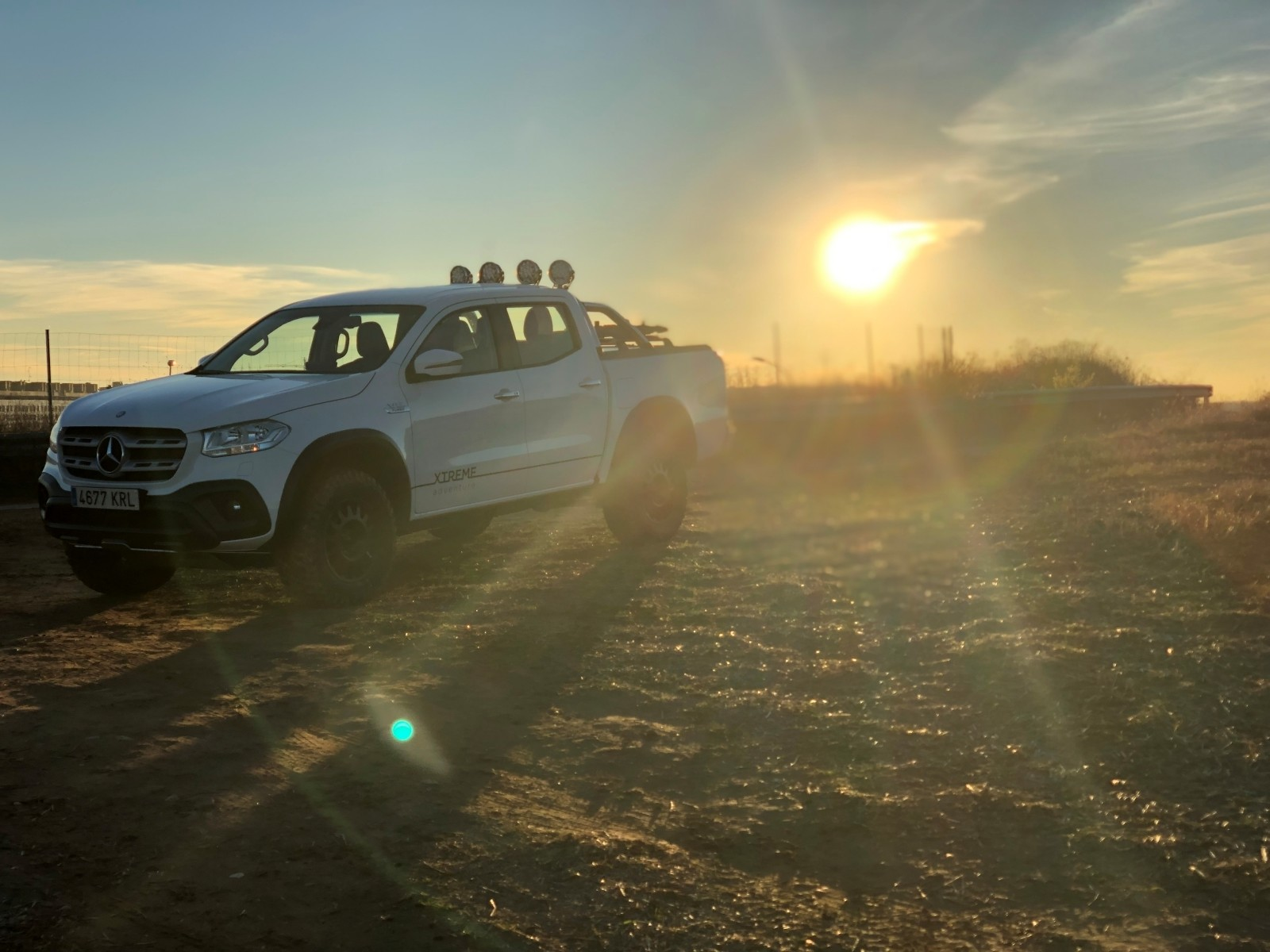 Foto de Mercedes-Benz Clase X 350d 2019 prueba contacto (40/78)