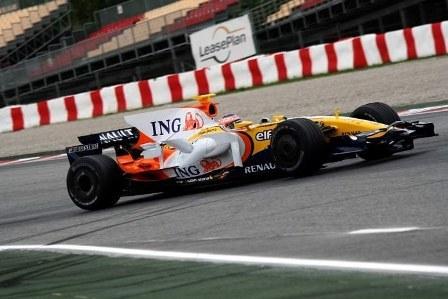 Nelsinho Piquet, el más rápido en Montmeló