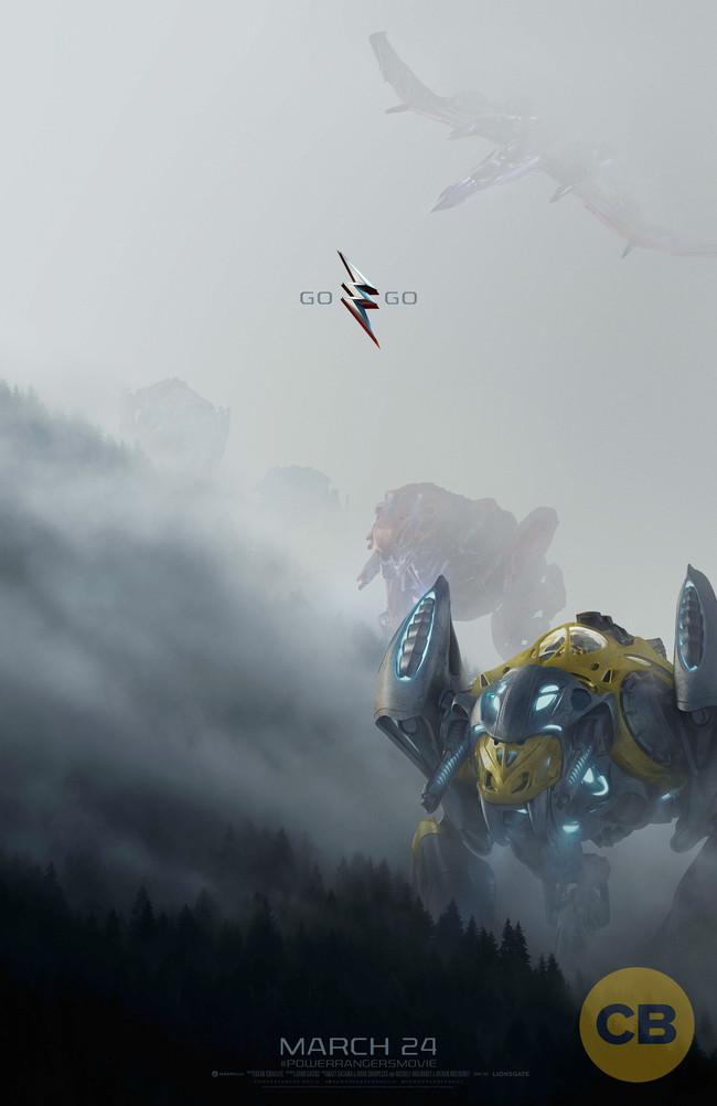 Zords Power Rangers Poster
