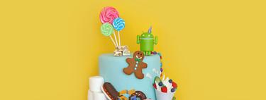 Diez años de Android, diez años de postres: éstos son los nombres que se quedaron por el camino