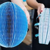 Este casco plegable para bicicleta fue fabricado con material reciclable y solo costará 5 dólares
