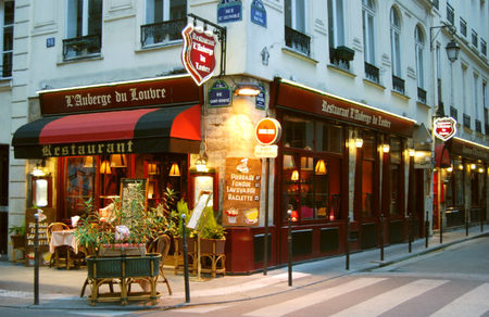 Restaurante en París