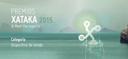 Mejor dispositivo de sonido: vota en los Premios Xataka 2015