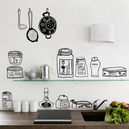 Siete accesorios muy estilosos para tu cocina for Accesorios decorativos para cocina