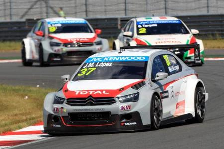 Citroën vuelve a dominar en el Moscow Raceway