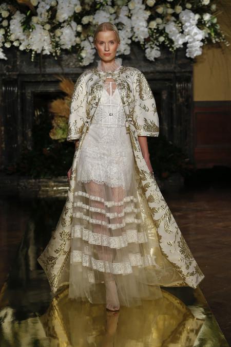 New York International Bridal Week 2016 Desfiles Nuevas Tendencias Novias 2017 Yolan Cris Yolancris1 20