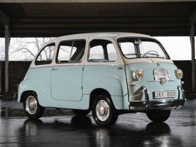 El Apple Car se parecerá más a este Fiat Multipla de 1957 que a un Tesla